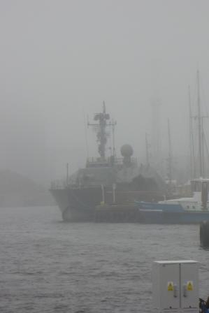 ORP Władysławowo we mgle
